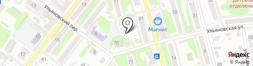 Акватория на карте Иваново
