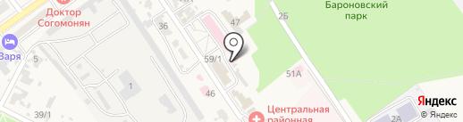 Кубаньфармация, ГУП на карте Новокубанска