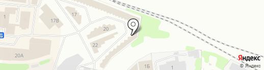 Зама на карте Иваново