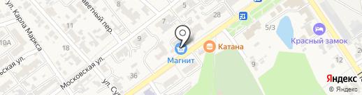 Банкомат, Банк Финансовая корпорация Открытие, ПАО на карте Новокубанска