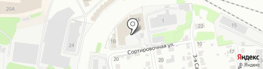 Бояртекс на карте Иваново