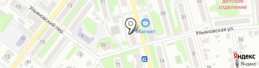 КАК РАЗ на карте Иваново