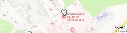 Аптечный склад на карте Новокубанска