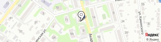 Богатырь на карте Иваново