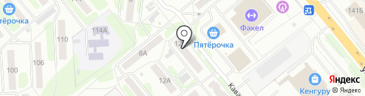 Gold star на карте Иваново