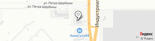 Нордика на карте Костромы