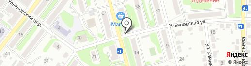 Тандем на карте Иваново