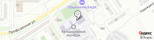 Атлант на карте Костромы
