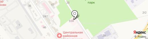 Новокубанский комплексный центр социального обслуживания населения на карте Новокубанска