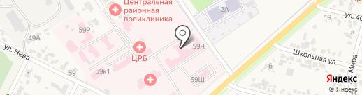 Банкомат, Крайинвестбанк, ПАО на карте Новокубанска