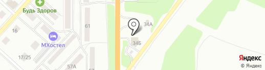Азбука путешествиЯ на карте Костромы