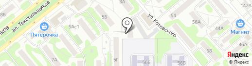 Данс на карте Иваново