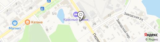 АВТОЛИДЕР на карте Новокубанска