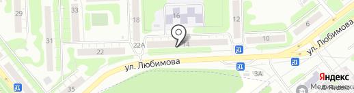 Цапцарапка на карте Иваново