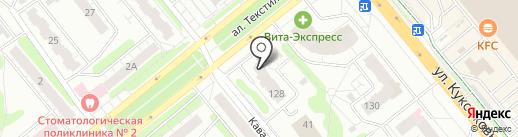 Торгово-монтажная компания на карте Иваново