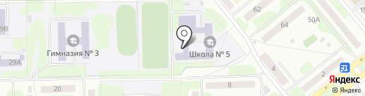 Средняя общеобразовательная школа №5 на карте Иваново