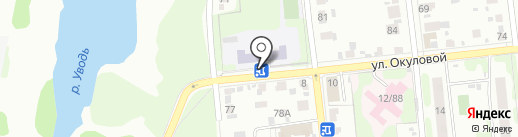 Средняя общеобразовательная школа №42 на карте Иваново