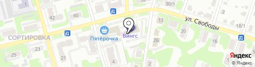 Окна-рехау37 на карте Иваново