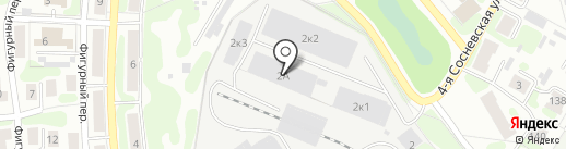 Олдос на карте Иваново