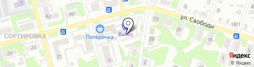 Вингс на карте Иваново