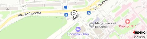 Оазис на карте Иваново