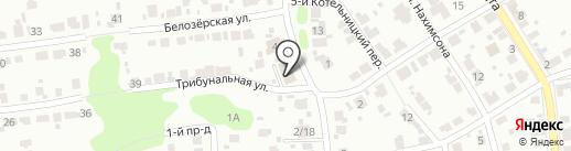 Городская библиотека №15 на карте Иваново