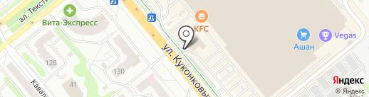 Hostel House на карте Иваново