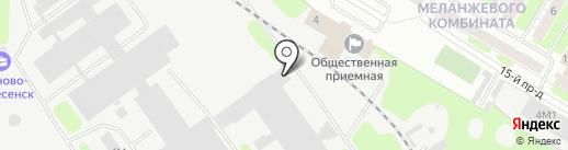 Текс Дизайн на карте Иваново