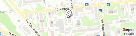 Парикмахерская №19 на карте Иваново