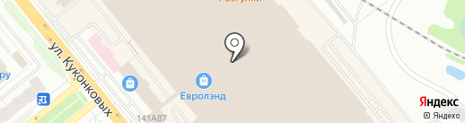 Евролэнд на карте Иваново