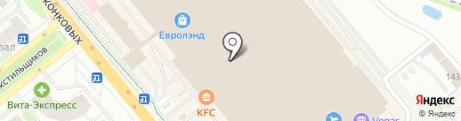 Роза-мимоза на карте Иваново