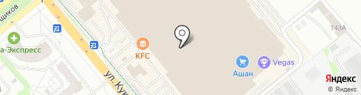Метелица на карте Иваново