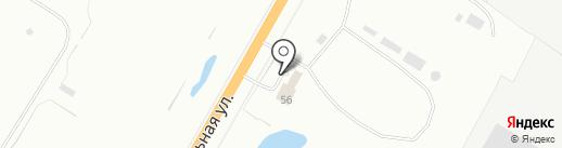 Веселый слесарь на карте Костромы