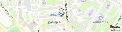 Дионис на карте Иваново