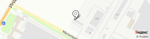 Колорист на карте Костромы