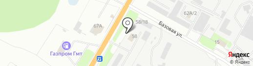 Дорожное хозяйство г. Костромы на карте Костромы