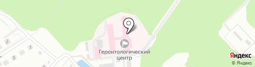 Октябрьский геронтологический центр г. Костромы на карте Костромы