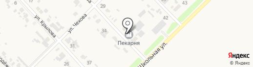Пекарня на карте Глубокого