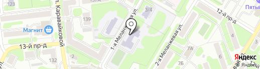 Средняя общеобразовательная школа №49, МБОУ на карте Иваново