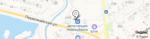 Агрокомплекс на карте Новокубанска