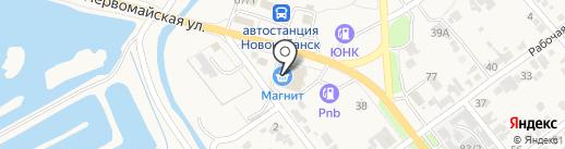 Банкомат, Банк ВТБ 24, ПАО на карте Новокубанска