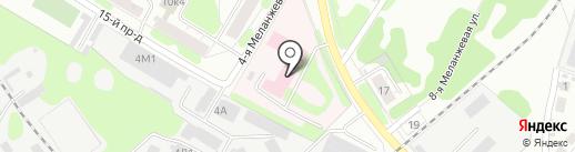 Ивановский областной клинический центр медицинской реабилитации на карте Иваново