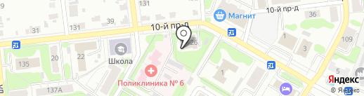 Мировые судьи Советского района на карте Иваново