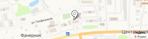 Народный магазин на карте Фанерника