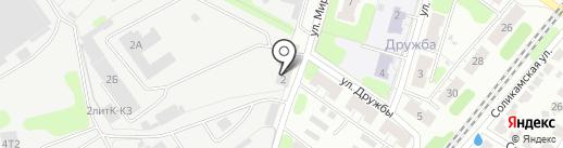 Заритек на карте Иваново
