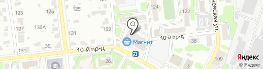 Швейное ателье на карте Иваново