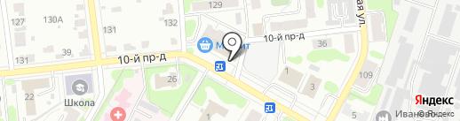 Эконом мебель на карте Иваново