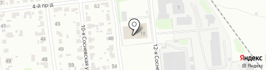 Соснево на карте Иваново
