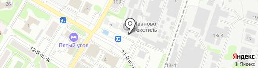 LuckyTex на карте Иваново