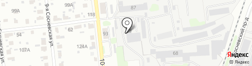 Ивсахар на карте Иваново